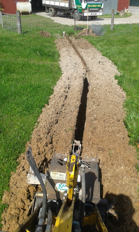 Water Pipe Trenching1